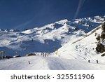 winter in alps  kaltenbach ski... | Shutterstock . vector #325511906