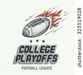 college playoffs. american... | Shutterstock .eps vector #325519028