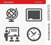 classroom icons. professional ... | Shutterstock .eps vector #325570172