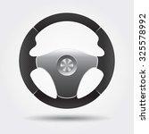 steering wheel | Shutterstock .eps vector #325578992