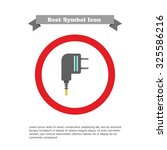 electric plug icon | Shutterstock .eps vector #325586216