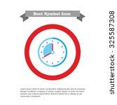 clock icon | Shutterstock .eps vector #325587308