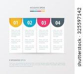 banner design yellow  blue ... | Shutterstock .eps vector #325597142