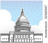 capitol hill | Shutterstock . vector #32560567