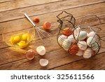 Eggs In Vintage Hen Shape...