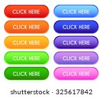 collection of 'click here'... | Shutterstock .eps vector #325617842