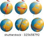 latitude and longitude | Shutterstock .eps vector #325658792