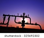 valves and piping  | Shutterstock . vector #325692302