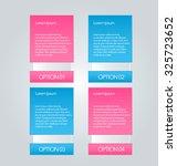 business infographics tabs... | Shutterstock .eps vector #325723652