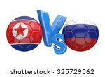 soccer versus match between... | Shutterstock . vector #325729562