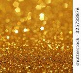 Golden Glitter Light Texture...