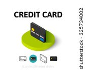 credit card icon  vector symbol ...