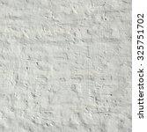 Vintage White Brick Wall...