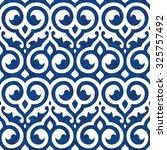 seamless ancient arabic...   Shutterstock .eps vector #325757492