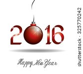 happy new year concept with... | Shutterstock .eps vector #325770242