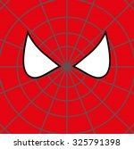 superhero face background.... | Shutterstock .eps vector #325791398