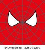 superhero face background.... | Shutterstock .eps vector #325791398