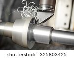 metalworking  industry  cutting ... | Shutterstock . vector #325803425