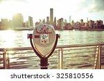 pay binoculars in long island...   Shutterstock . vector #325810556