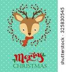 merry christmas | Shutterstock .eps vector #325830545