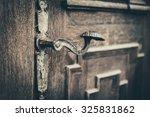 Detail Of Old Wooden Door....