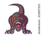 dinosaur icon | Shutterstock .eps vector #325837352