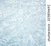 winter field of ice path | Shutterstock . vector #325854692