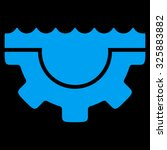 water service vector icon.... | Shutterstock .eps vector #325883882