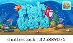 Fish World   Horizontal Banner  ...