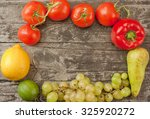 fruits and vegetables | Shutterstock . vector #325920272