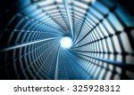 3d space tube | Shutterstock . vector #325928312