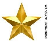 golden star | Shutterstock . vector #325929125
