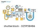 flat line illustration of...   Shutterstock .eps vector #325958486