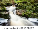 small stream at the jungle of... | Shutterstock . vector #325960526