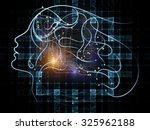 human tangents series. design...   Shutterstock . vector #325962188
