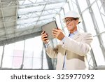 follow the technologies. low... | Shutterstock . vector #325977092
