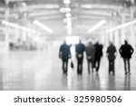 abstract blur from engineers on ... | Shutterstock . vector #325980506