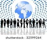 illustration of business | Shutterstock .eps vector #32599264