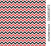 Red  Black   White Chevron...