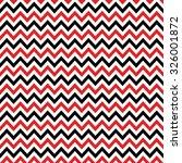 red  black   white chevron... | Shutterstock .eps vector #326001872