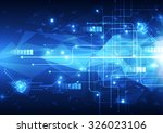 abstract vector speed... | Shutterstock .eps vector #326023106