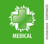 Vector Logo Green Cross And...