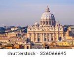 St Peter's Basilica In Vatican  ...