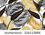 beautiful seamless vector... | Shutterstock .eps vector #326113886