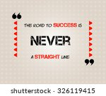 quote success textbox with... | Shutterstock .eps vector #326119415