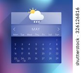 may  2016 ui calendar in modern ...