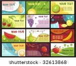 cards | Shutterstock .eps vector #32613868