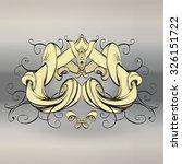vitnazh nye elements for... | Shutterstock .eps vector #326151722