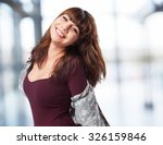 woman smiling isolated | Shutterstock . vector #326159846