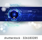 vector illustration abstract hi ... | Shutterstock .eps vector #326183285